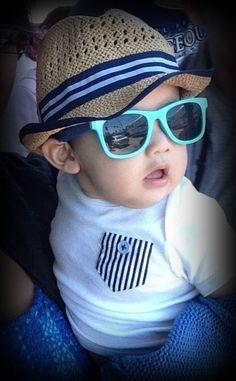 Blue shades. #eyeglasses