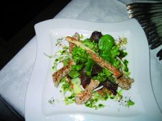 Knackiger Salat mit herzhafter Hühnerbrust ... mmhhh... Asparagus, Tacos, Mexican, Vegetables, Ethnic Recipes, Food, Meal, Essen, Vegetable Recipes