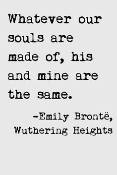 Deep Love Quotes by Emily Bronte