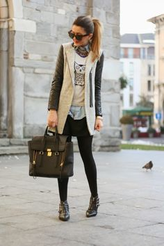 """Perfect exsample of what not to wear - ALL OF THE """"IT"""" ITEMS IN ONE OUTFIT"""