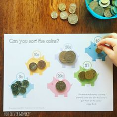 Teaching Australian Money - classroom ideas and ready to print resources perfect…