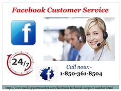 """""""Yes, you can avail our Facebook Customer Service directly by making a phone call on our toll-free number 1-850-361-8504. This is the basic thing which keeps us in touch. We claim that we shall solve your all kinds of Facebook issues with the higher speed than the speed of light. So, don't waste your time and stay in touch with us.  http://www.mailsupportnumber.com/facebook-technical-support-number.html"""""""