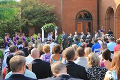 Outdoor Weddings at the Boone Center