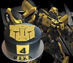 Bumblebee Transformer Cake | Cake Cupcakes and Cookies