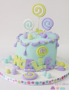 Drippy Candy...Cake-ity Cakes