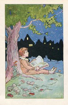 1920's Johnny Gruelle illustration