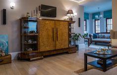 Salon - Wnętrza domu