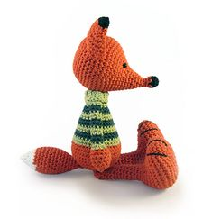 Buy Vladimir the Fox pattern - AmigurumiPatterns.net