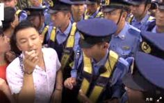 2014/07/01  「集団的自衛権行使容認反対!」 首相官邸前、閣議決定後も抗議の声やまず
