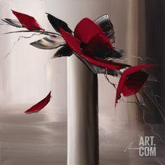 En Rouge et Gris I Reproduction d'art