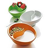 No soggy cereal with this bowl!!!