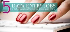 5 Legit Home Based Data Entry Jobs So, you want to know about data entry? Well, if there is one thing to be said…not all data entry is a joke. There are some legitimate companies out there. Let's get this list rolling, so you can start getting paid for legit data entry work. TDEC While […]