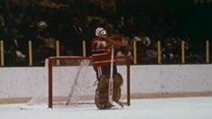 Ken Dryden: 100 Greatest NHL Players Canadiens goalie won Stanley Cup six times, Vezina Trophy five times, captured Conn Smythe Trophy year before being named top rookie Ken Dryden, Canadian Culture, Bobby Orr, Stanley Cup Playoffs, Toronto Maple Leafs, Boston Bruins, Hockey Players, Sports Illustrated