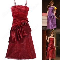 Discount China china wholesale Dinner Bright Spot Flouncing Strap Long Party Evening Wedding Dress Large Size [30653] - US$29.49 : Bluelans
