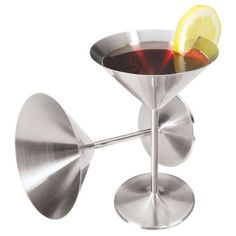 These really are the best martini glasses! They stay cold longer. Great gift idea. ~Mandi