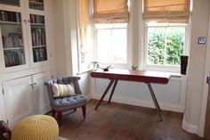 The Bouji chair and Fonteyn desk in Deborah's study, lovely.