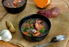 This Caribbean coconut seafood soup is inspired by the Caribbean flavours of Costa Rica. It's luxurious with perfectly cooked seafood, hearty root vegetables and coconut milk. Chicken Meatball Soup, Seafood Soup Recipes, Second Breakfast, Homemade Soup, Just Cooking, Soups And Stews, Caribbean, Food And Drink