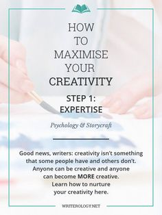 Nurturing your creativity and motivation to write is an important part of being a writer. How can you do that? Using the Componential Theory of Creativity. Let's explore the first component. | Writerology.net
