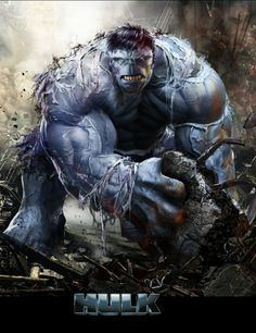 Grey Hulk by John Gallagher