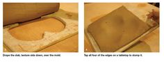 If you have any woodworking skills, you can make slump molds of almost any shape and size.