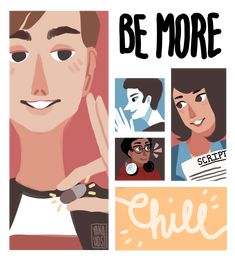 Be more chill bmc Jeremy heere christine Michael mell squip Michael Mell, Michael X, Broadway, Bohemian Living, Mountain Dew Red, Comedia Musical, Be More Chill Musical, Michael In The Bathroom, Hansen Is
