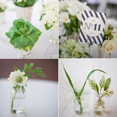 Flowers in Mint Juleps-preppy-wedding-style-Kelley-Thomas-Snippet and Ink