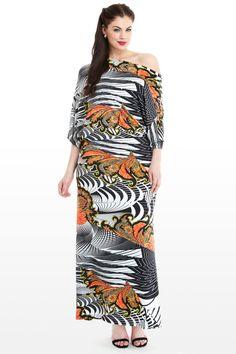 Tokyo Blossom Maxi Dress