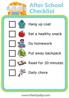 81 best after school routine images ideas sons kid chores
