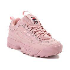 release date: 8ebe3 683c8 Womens Fila Disruptor II Athletic Shoe - Pink - 452025