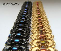 You will receive an 4 pages pdf file with easy to follow, step by step English instructions on how to make this bracelet . This bracelet is made with: Arcos par Puca, Minos par Puca, O beads 2 hole cabouchons 2mm fire polish rounds (true 2)   Skill Level: advanced/beginner the length of the bracelet is easy to adjust. NOW ON INSTANT DOWNLOAD Feel free to contact me if you have any questions or if you need help with the tutorial   Please do not copy the instruction, or used them for…