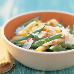Marinated Summer Beans with Toasted Almonds and Dry Jack Cheese | Williams-Sonoma