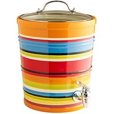 My Pier 1 Summer Stripes entertaining serveware collection. So fun and festive :)