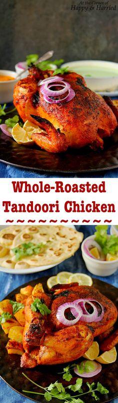 Whole Roasted Tandoori Chicken