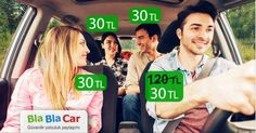 Bla Bla Car ile Pahalı Seyahat'e Son !