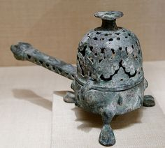 Incense burner with domed cover_Iran_The Met.