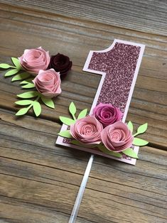 Master Bedroom Decorating Concepts - DIY Crown Molding Set Up One Year Cake Topper Floral Smash Cake Floral Pink Cake Etsy 1st Birthday Cake Smash, Girl First Birthday, First Birthday Parties, Smash Cake Girl, Panda Pink, Diy Birthday Decorations, Tissue Paper Flowers, Floral Cake, Cute Pink