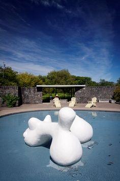 The American Modernist Garden, Hamilton Gardens, New Zealand