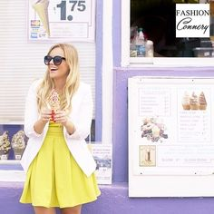 Sweet Treats in the Summer Chartreuse Dress, Chartreuse Color, Cake In A Cone, Popular Instagram Accounts, Caged Heels, Summer Colors, Shout Out, Style Inspiration, Style Ideas