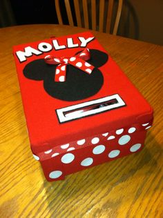 Valentines Day Box Minnie Mouse