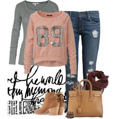"""Casual & Comfy!"" by jjanstover on Polyvore"