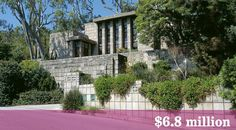 Most Expensive Frank Lloyd Wright Home Sells, Sets Record:  The Frank Lloyd Wright-designed John Storer Residence has sold in Hollywood Hills West, for $6.8 million.  Full story here: http://petebuonocore.tumblr.com/post/112237855763/most-expensive-frank-lloyd-wright-home-sells-sets
