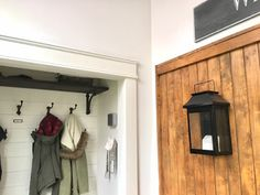 I am so thrilled to say we have finally completed our main floor makeover.it has been a long process that we started back in the. White Wood, Wood Projects, Maine, Entryway, Flooring, Furniture, Home Decor, Wooden Projects, Homemade Home Decor