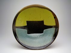 Plate • Daphne Hatcher  Love her work.  Love visiting the studio she shares with husband, Gary, in east Texas.