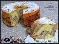 Condividi la ricetta Share CHIFFON CAKE GIRAFFA AL CAFFÈ E CACAO, UNA NUVOLA DI BONTÀ! RICETTA DI: MARCELLA MARINO Ingredienti: 300 g farina per dolci 300 g zucchero 7 uova 1 fialetta essenza vaniglia 1…