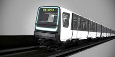 Nouveau metro Paris ligne 14 - Alstom Design & Styling