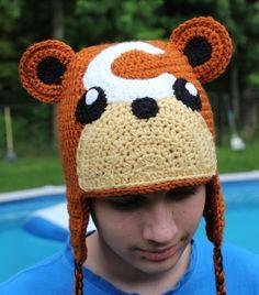 Pokemon Teddiursa Inspired Hat