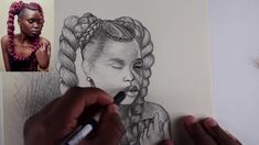 Drawing a Girl (Freehand Drawing)