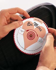 Valentine's Day Crafts: Sentimental Valentine's Day Wheel Message