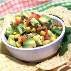 Corn and Avocado Salsa Allrecipes.com