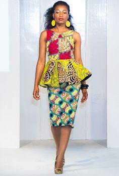 Kiki Clothing at Africa Fashion week 2012 Photo by Simon Klyne